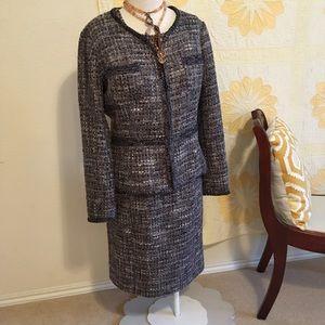 St. John Dress and Jacket